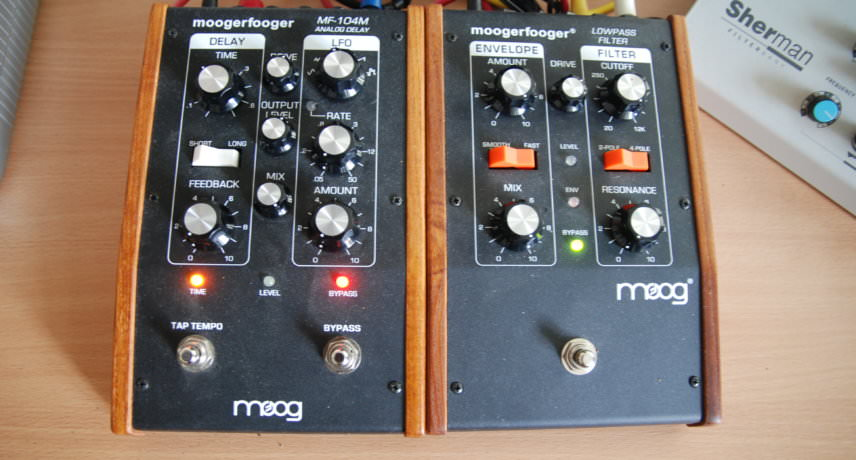 Moog Moogerfooger MF101 Filter & MF104M Delay