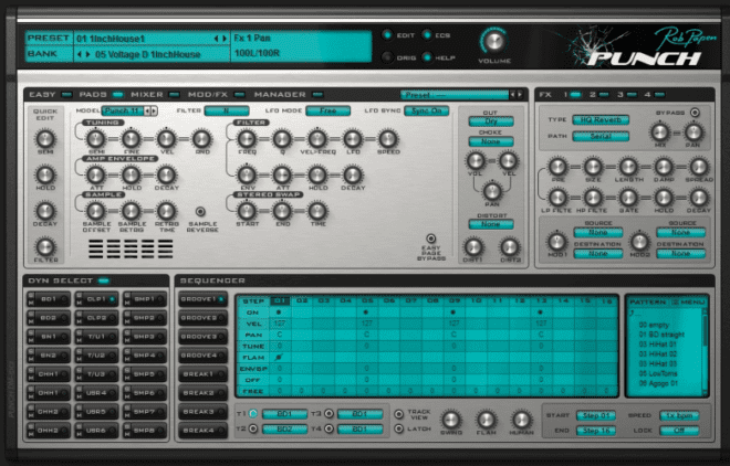 Rob Papen Punch, drum synth plugins