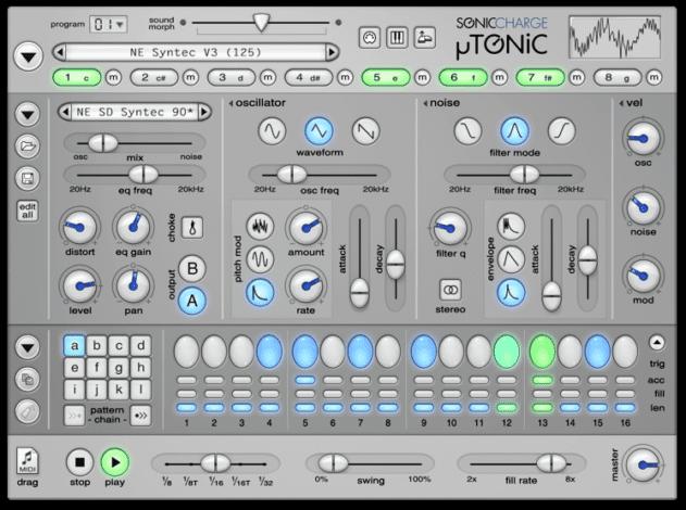 Sonic Charge µTONIC
