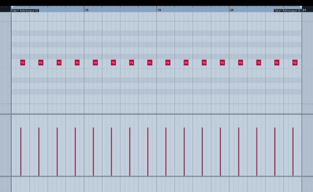Pic 1b - off-beat bass.