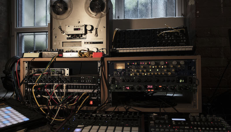 Tempest, Patch Bay, ISA 430, Tape etc