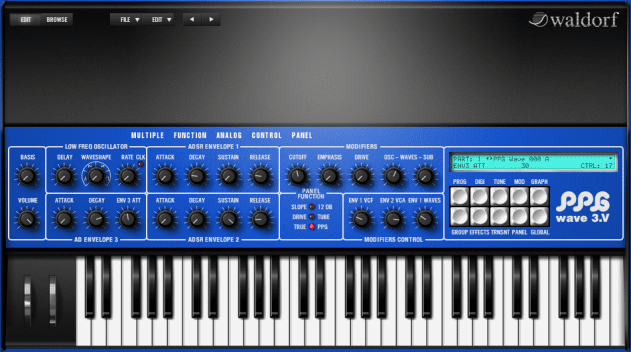 Waldorf PPG Wave 3.V is the reincarnation of the legendary PPG Wave Synthesiser