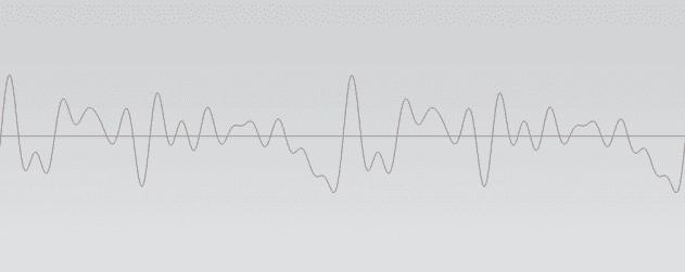 A complex digital waveform