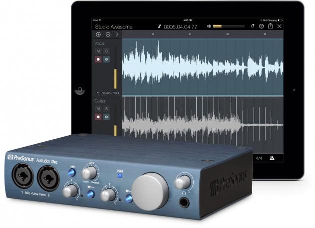 PreSonus Audiobox iTwo, audio interface