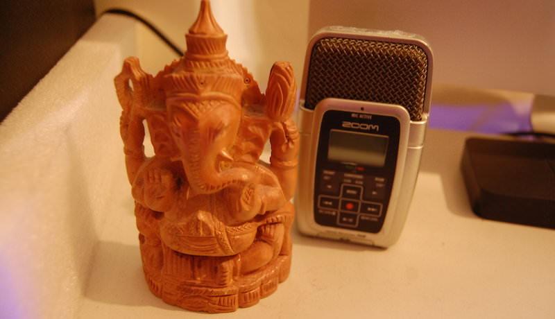 Ganesh + Zoom Mic