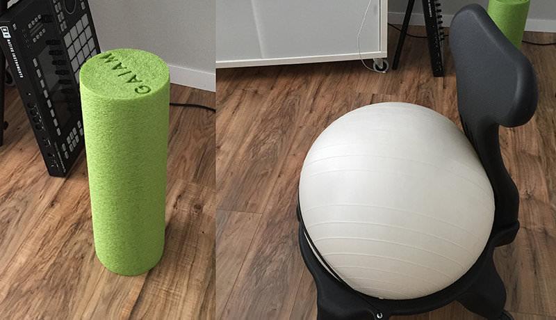 Foam Roller & Exercise Ball