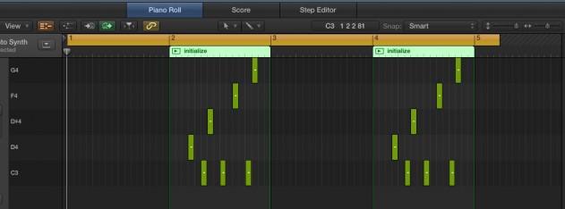 MIDI Screengrab