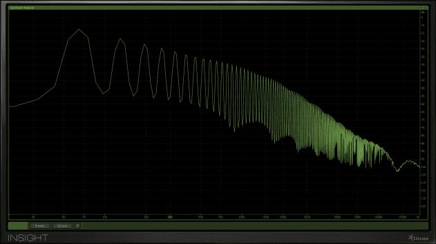 Pic 10a - f.plot - single oscillator saw only - cutoff at max.