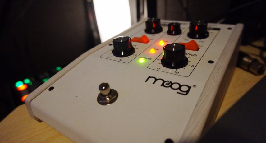 Moog 101 Overdrive/Filter