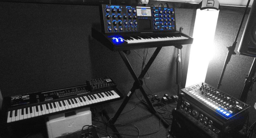 Roland and Moog
