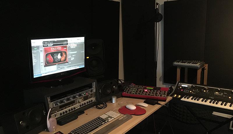 Davina Moss - My Studio
