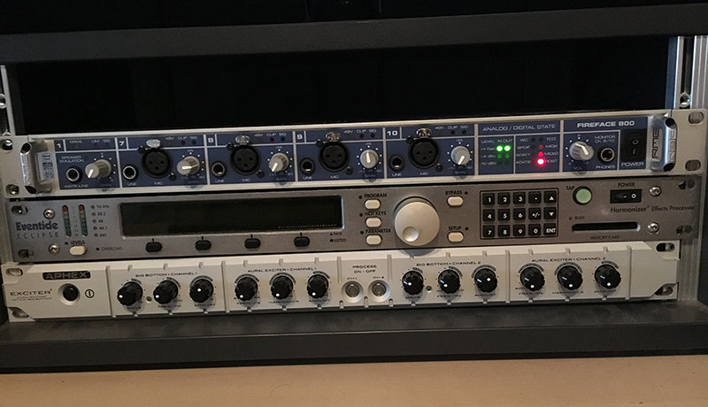 RME Fireface 800, Eventide Eclipse & Aphex Exciter