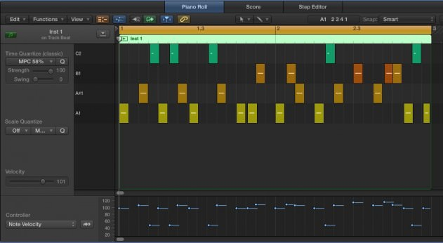 MIDI Screengrab