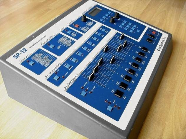 Vintage colour: the 12-bit E-mu SP-12