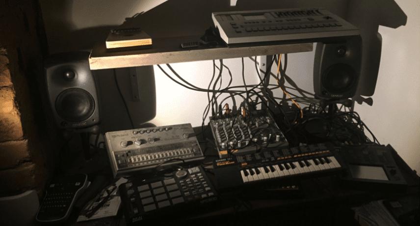 Auntie Flo - My Studio