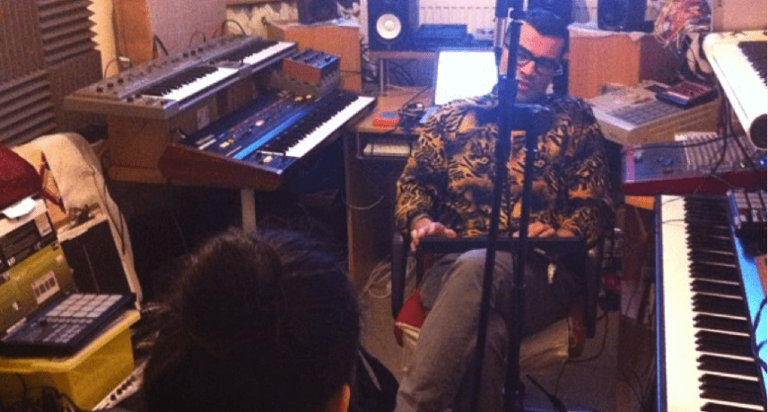 Esa's G4 studio in Hackney Wick