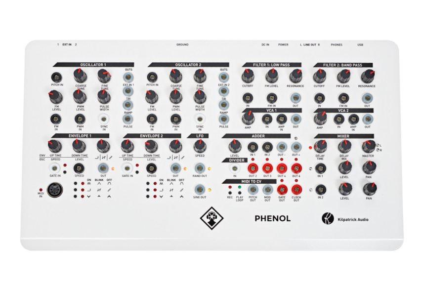 Kilpatrick Audio - PHENOL - Patchable Analog Synthesizer