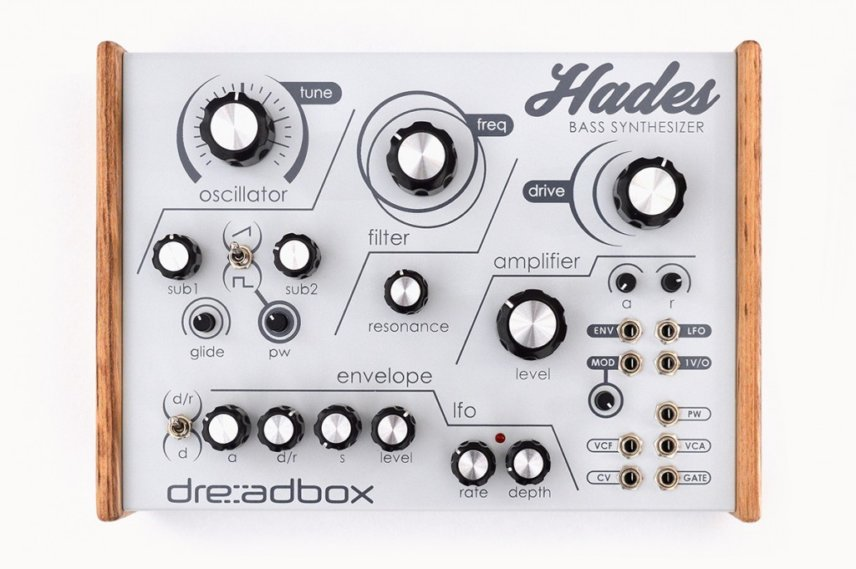 "Dreadbox ""Hades"", Bass Synthesiser"
