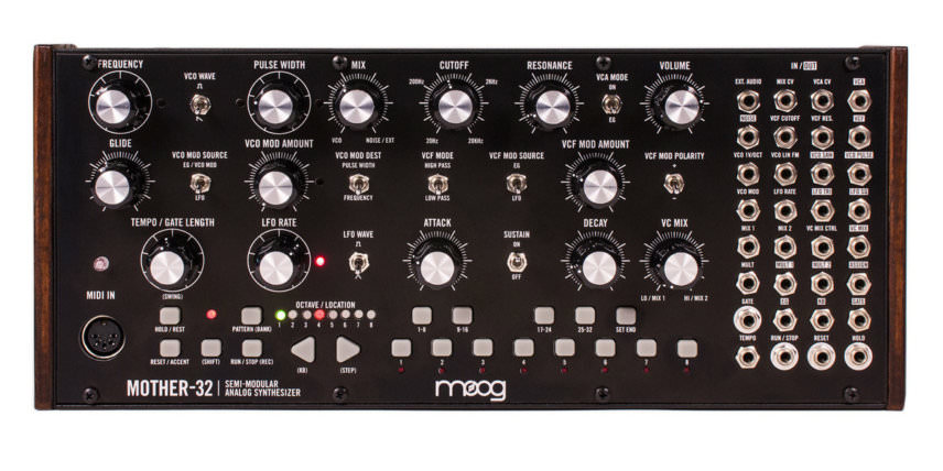 Moog Mother 32 semi modular synthesizer