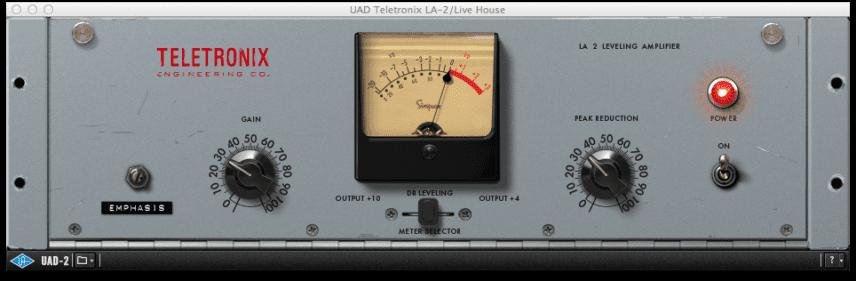 Teletronix UAD-2 LA 2 Leveling Amplifier