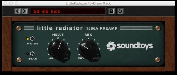little radiator preamp soundtoys