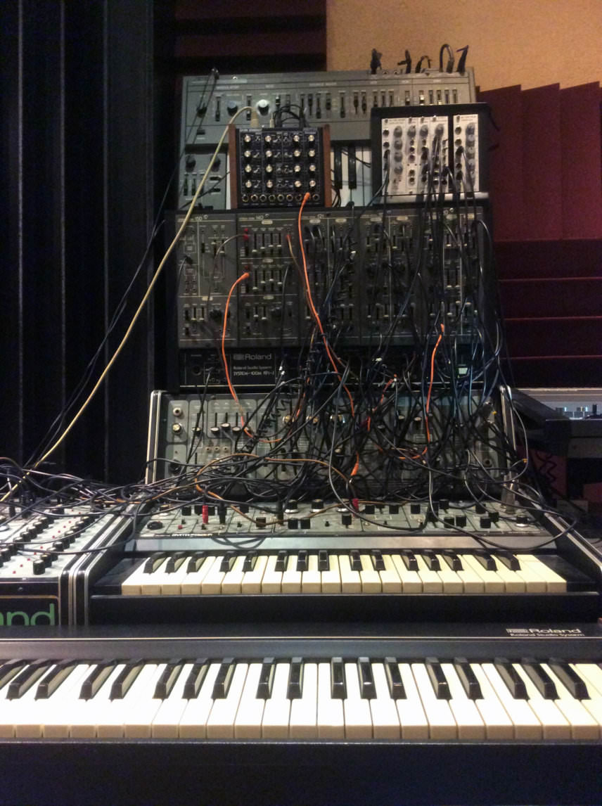 Roland System 100 and SH-101