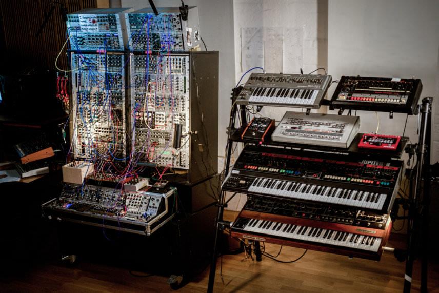 Instruments at Apollo Studios