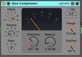 ableton glue compressor