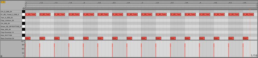 MIDI Programming, Ableton, Beat