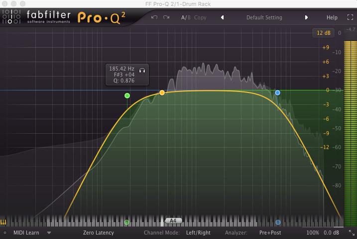 Fabfilter Pro-Q2 Equaliser