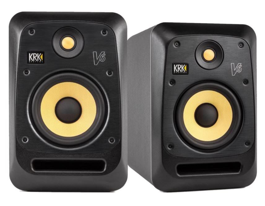 KRK V6S4 Monitor Speakers