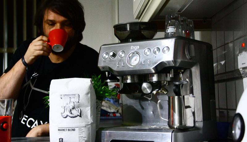 Saytek's Coffee Machine