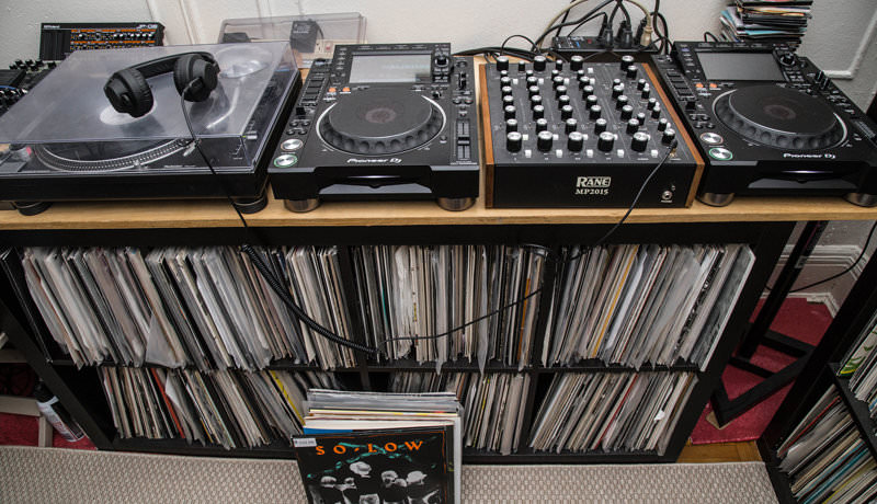 DJ Setup & Records