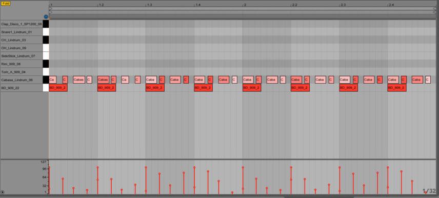 Ableton MIDI Programming