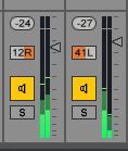 Ableton Mixer
