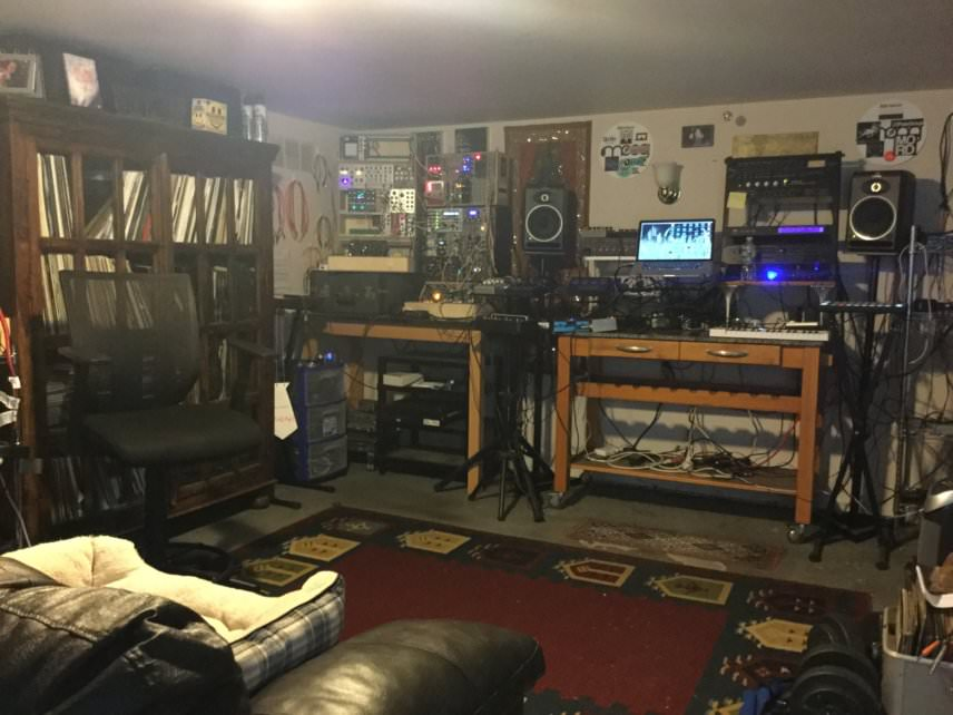 Brendon Moeller's studio