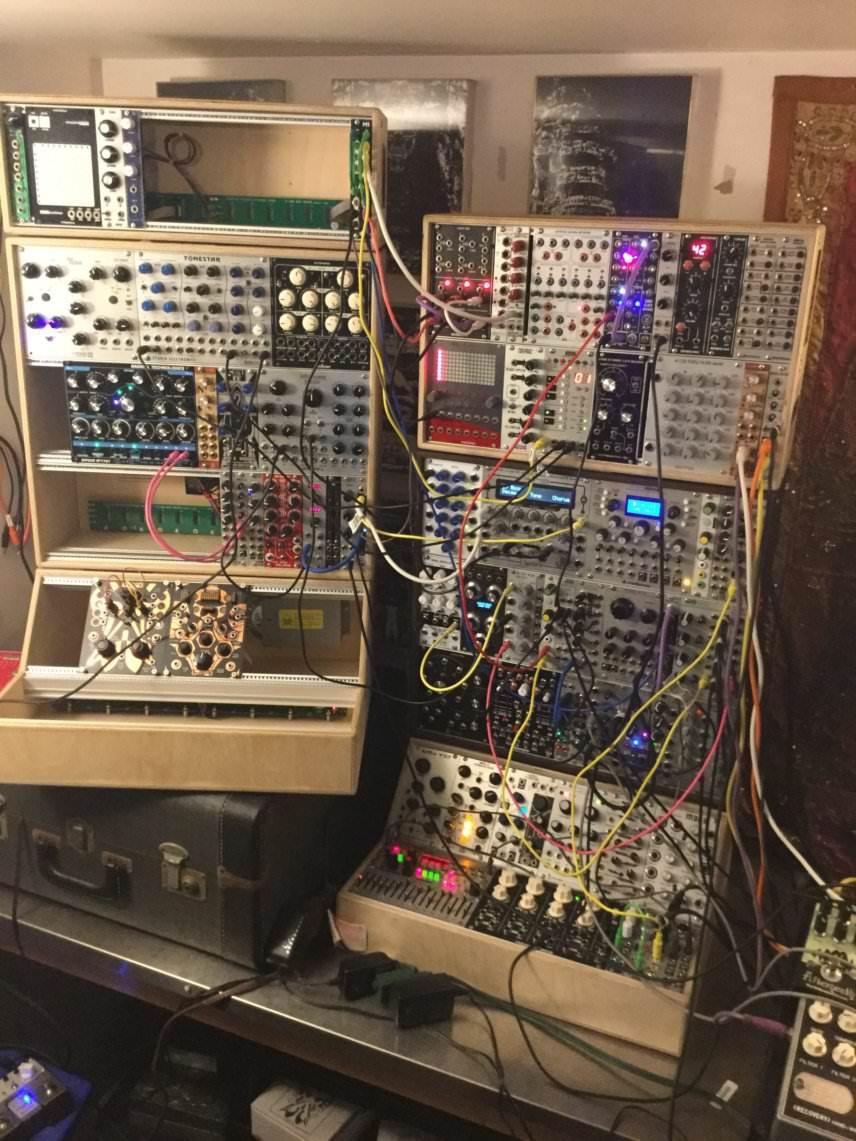 """Brendon Moeller's Eurorack """"groovebox"""""""