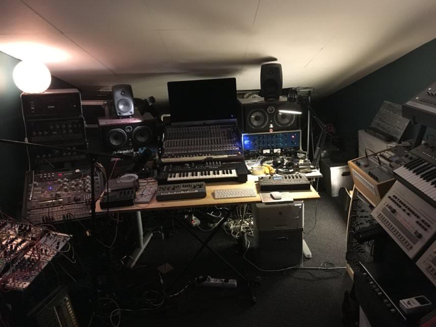 Andreas Tilliander's studio