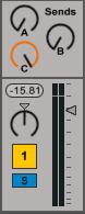 Ableton Mixer Track