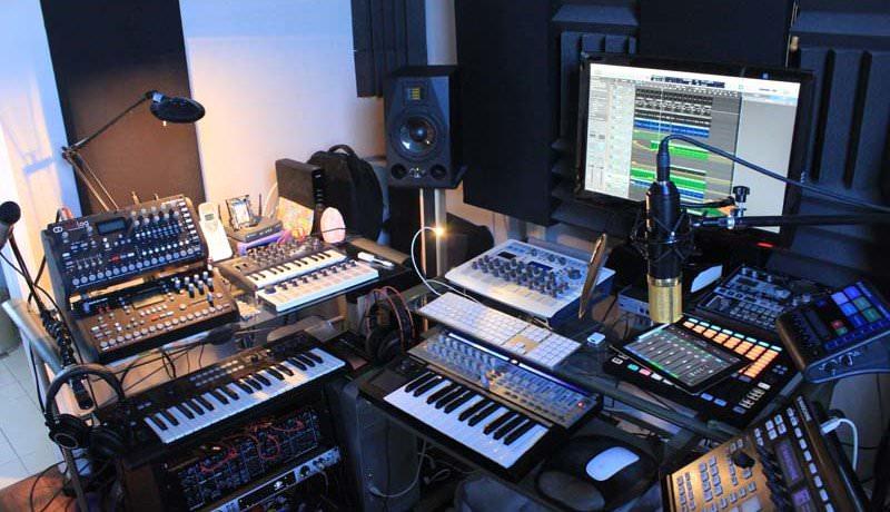 Clayton Steel's Studio