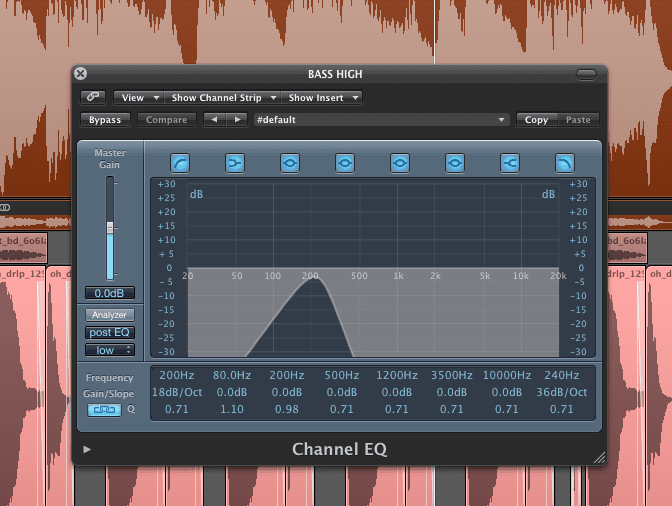 Secrets of Dance Music Production Isolating samples - step 3