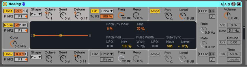 ableton analog