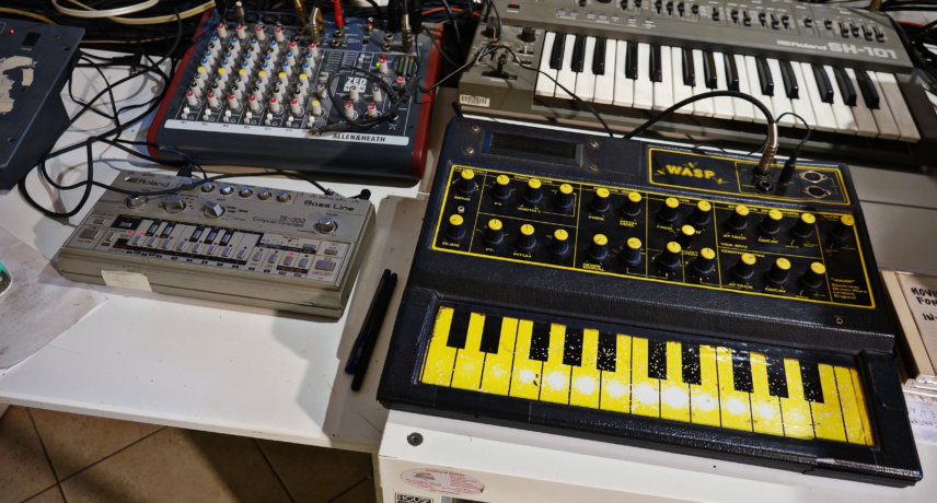 Alexander Robotnick - Wasp and tb303