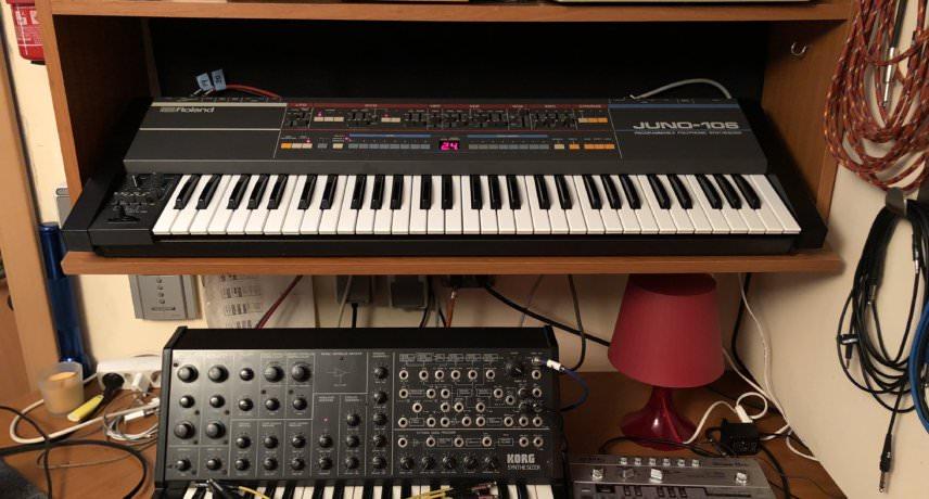 Shit Robot - Roland Juno-106, Korg MS-20 & Roland CR-8000