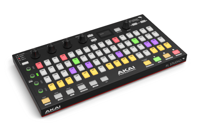 Akai Fire Alpha Render Hero Left V1 Post