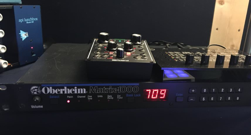 Oberheim Matrix 1000