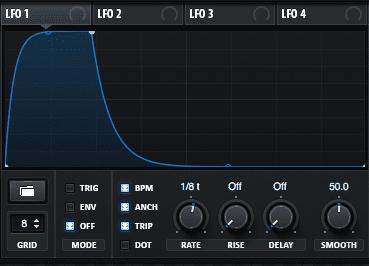 Modulating Serum's FX for Beat Pulsing Plucks Step 2.1