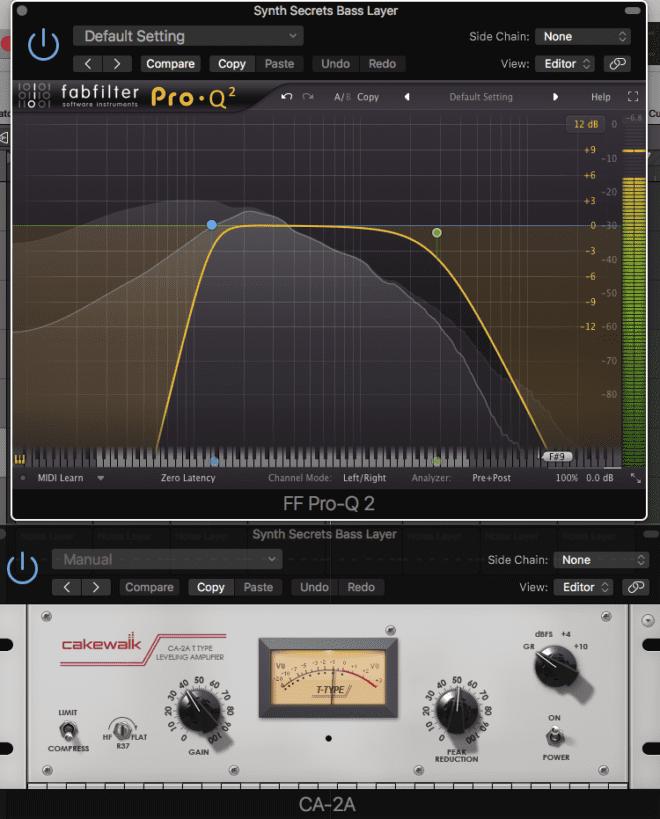 Lower midrange bass processing Attack Magazine