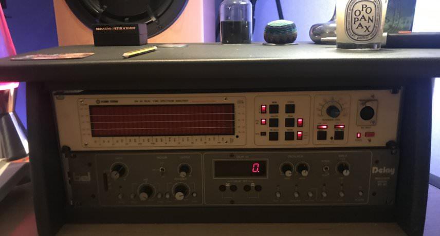 MJ Cole Klark Teknik DN6000 Audio Spectrum Analyser