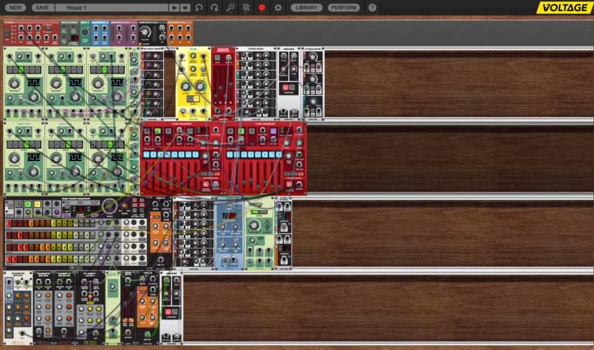 Cherry Audio Voltage Modular. Click to enlarge.